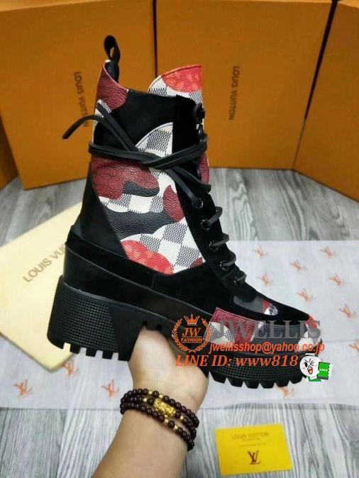 8e4db50f4c12 ルイヴィトンLouisVuittonレディースブーツコピー2018新作-ブランドレディース靴コピー