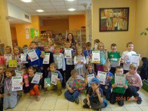 Sukcesy szachistów GAMBITU MDK we wrocławskich turniejach, Wrocław, 05-06.04.2014