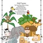 This purchase includes: Classroom Passes with a Wild About School! Jungle theme. 4 different passes (Hall, Girls, Boys,  Library) with a Wild ...