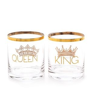 king and queen shot glass set  http://rstyle.me/n/s8byipdpe
