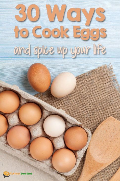 Are you tired of having the same old eggs over and over again? Check out this post for 30 different ways to cook eggs. You'll never get sick of eggs again.