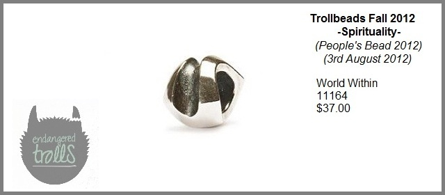 Trollbeads Fall 2012 Spirituality Collection - World Within