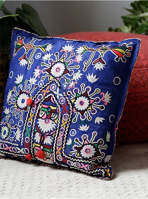 Free People Small Bodice Decorative Pillow, $120.00