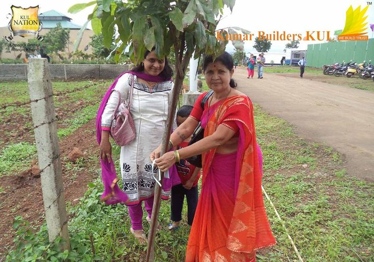KUL Citizens took part in the Tree Plantation Event organized by Kumar Builders KUL.