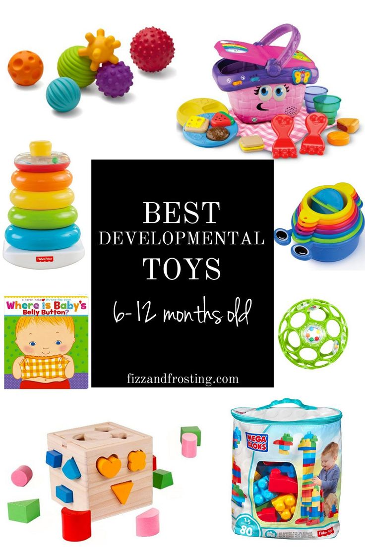 educational toys for babies 6-12 months old | www.fizzandfrosting.com