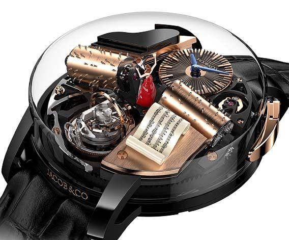 La Cote des Montres : La montre Opera by Jacob & Co. - Une boîte à musique et un mouvement de montre-bracelet