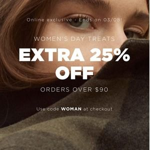 EXTRA 25% OFF On Orders Over $90 @ Mango Outlet https://www.isavetoday.com/deal-detail/extra-25-off-on-orders-over-90-mango-outlet/6540