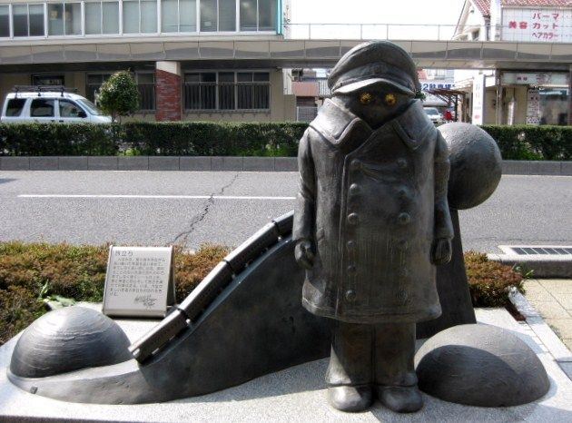 Galaxy Express 999 - bronze statue - Conductor