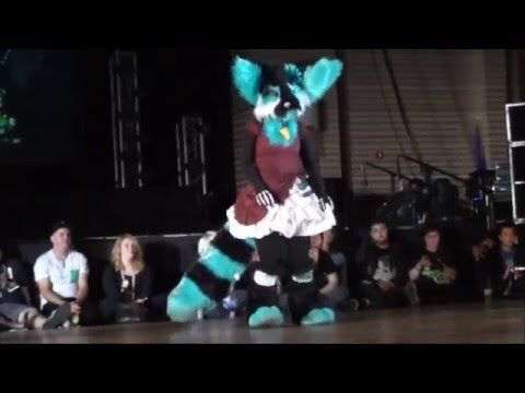 Qyt - BLFC 2016 Fursuit Dance Competition - Novice Category - YouTube