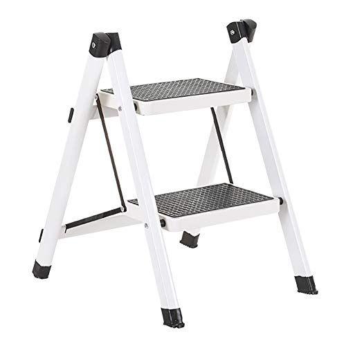 Lxf Step Stool Ladders Stools Heavy Duty Iron 2 Step Folding