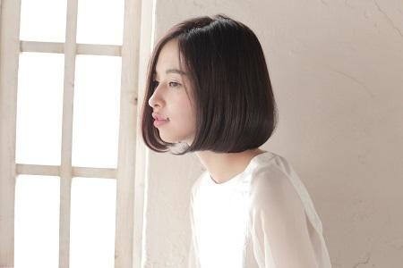 【モテ髪No.1】黒髪♡ワンレンボブが可愛すぎる!!!の16枚目の写真