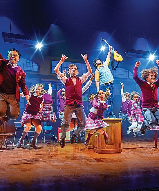 """zulily-exclusive offer to see Andrew Lloyd Webber's Smash Hit Musical School of Rock on Broadway! Get Orchestra seats for select dates through November 19. Buy two or more tickets and you will also receive a $25 credit for a delectable dinner at STK New York City - Midtown.Andrew Lloyd Webber, the man who brought rock and romance to Broadway, is back with a new heart-stirring hit. SCHOOL OF ROCK is a New York Times Critics' Pick and """"AN INSPIRING JOLT OF ENERGY, JOY AND MAD SKILLZ!""""…"""
