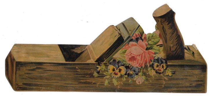 Victorian Scrap of Antique Plane CA 1883 | eBay: