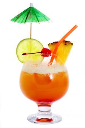 304 best caribbean theme images on pinterest - Dessin cocktail ...