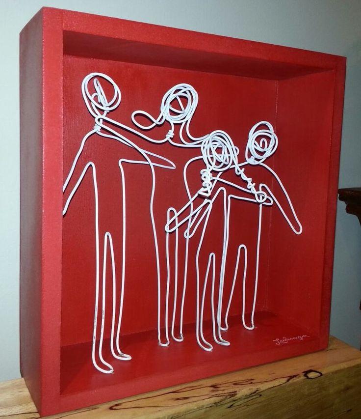 Escultura FAMILIA!