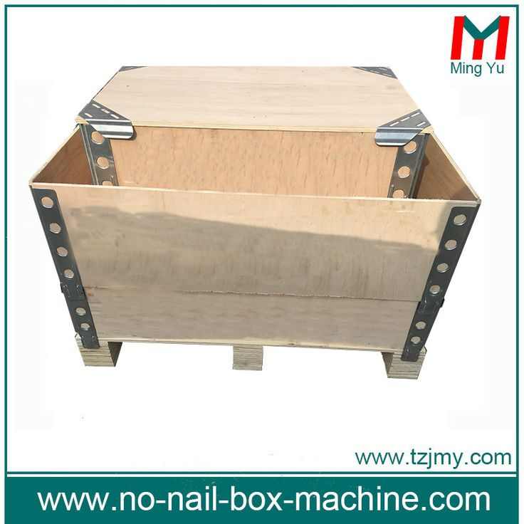 pallet collar  thickness 5-18mm foldable wooden create collapsible wooden create size can be customerized