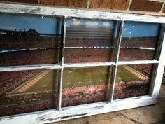University of Tennessee Football Field Window by WindowsbyLauren, $100.00