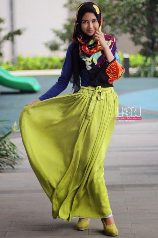Lulu Elhasbu ♥ Muslimah fashion inspiration