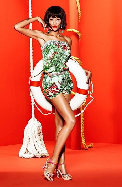 Combi short collection Eté Desigual 2015
