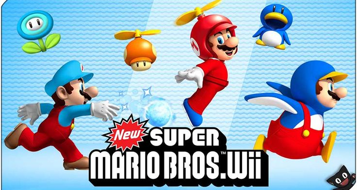 New Super Mario Bros Wii ISO - Free Download - http://www.ziperto.com/new-super-mario-bros-wii-iso/