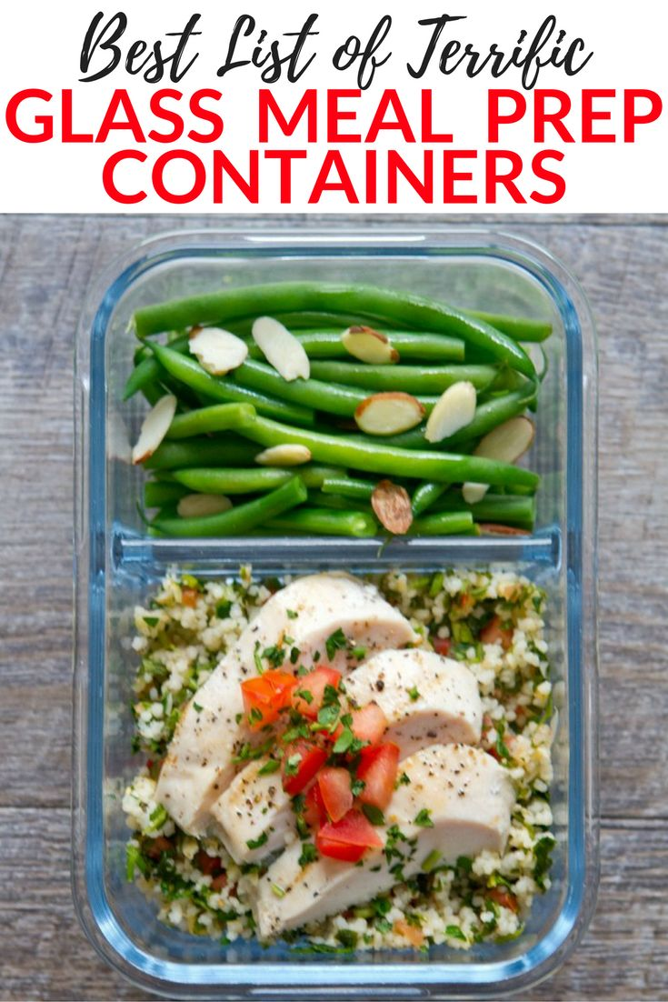 If you want to avoid toxic chemicals in your meals, check out this list of the best glass meal prep containers out there! via @easylivingtoday