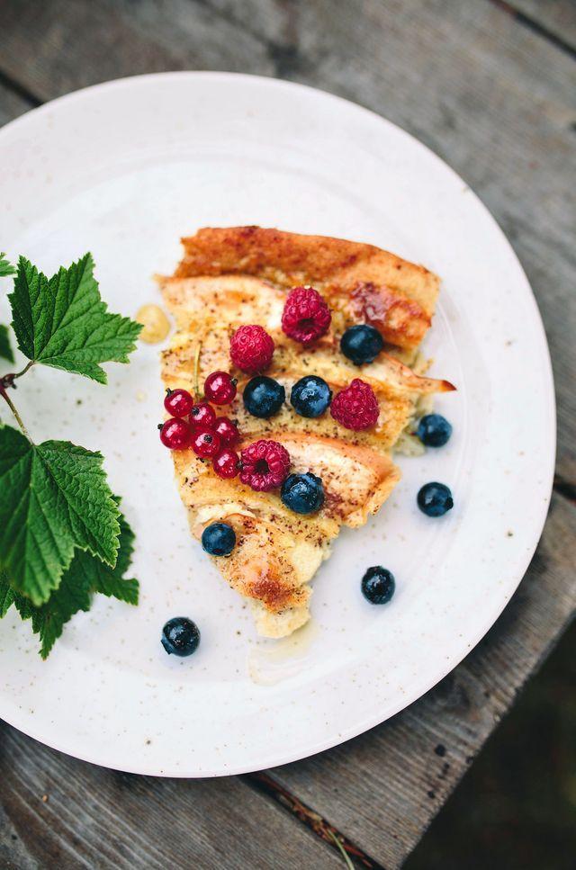 RECEPT: Ugnspannkaka med Äpple & Kanel (Glutenfri)