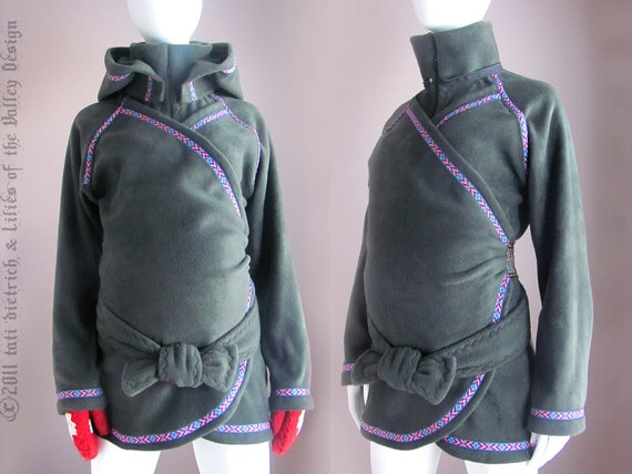 Babywearing Coat Maternity Coat Baby Wearing by PlusSizeClothing, ......such a cool idea