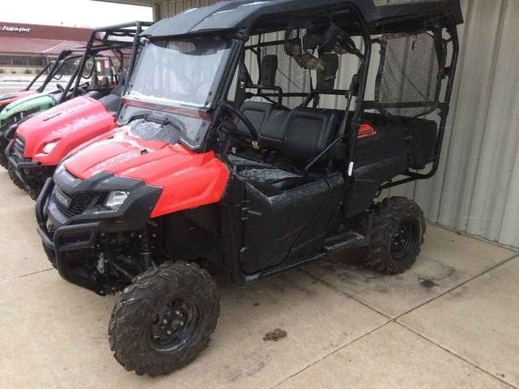 Used 2014 Honda Pioneer 700-4 ATVs For Sale in Iowa. 2014 Honda Pioneer 700-4, INSTALLED: FULL HARD TOP - VENTED SHIELD 2014 Honda® Pioneer 700-4 Honda®'s new four-passenger Pioneer 700-4 is a SxS packed with innovation, performance, style, and value that's geared for your needs, whether that's recreation or work. The Pioneer 700-4 features the industry's first convertible rear seating design that offers the convenience and versatility of switching between two, three, or four person…
