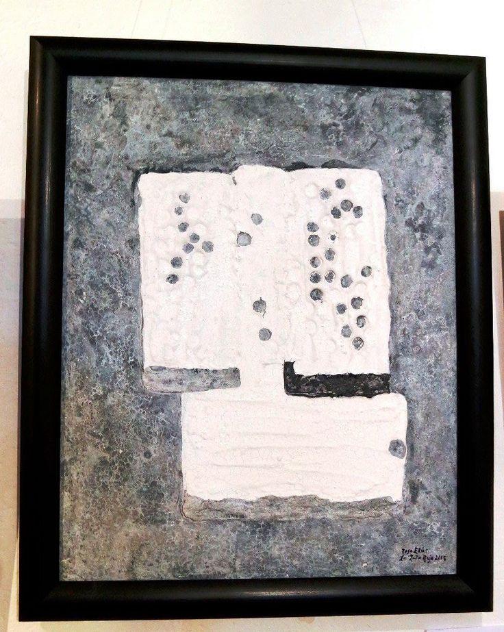 Acuarela Recuperación del Alma en Trizas. Por la pintora mexicana Rosa Elías, la gata roja. En colección privada de la Familia Mancera Browne-Silva.