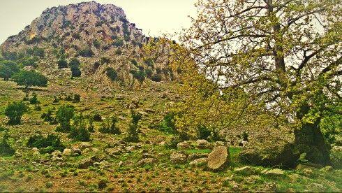 Xerovouni hill