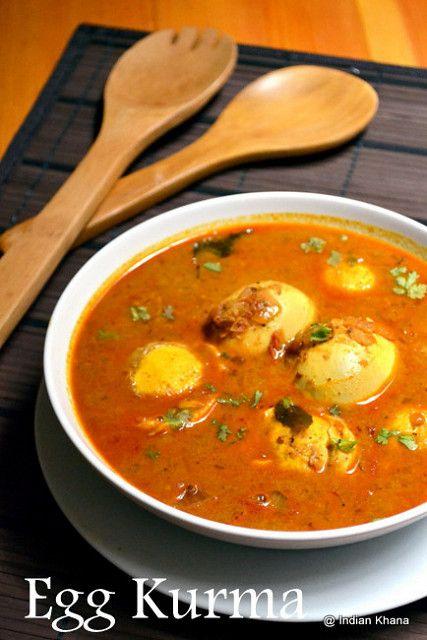 Indian Khana: Egg Kurma Recipe