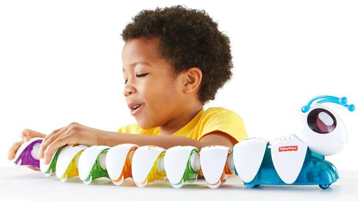 Fisher-Price lança centopeia que ensina codificação e raciocínio lógico para crianças pré-escolares - http://www.b9.com.br/67325/tech/fisher-price-lanca-centopeia-que-ensina-codificacao-e-raciocinio-logico-para-criancas-pre-escolares/?utm_content=buffer366d1&utm_medium=social&utm_source=facebook.com&utm_campaign=buffer | #websitesbaratos #sitesbaratos #websiteslowcost #siteslowcost
