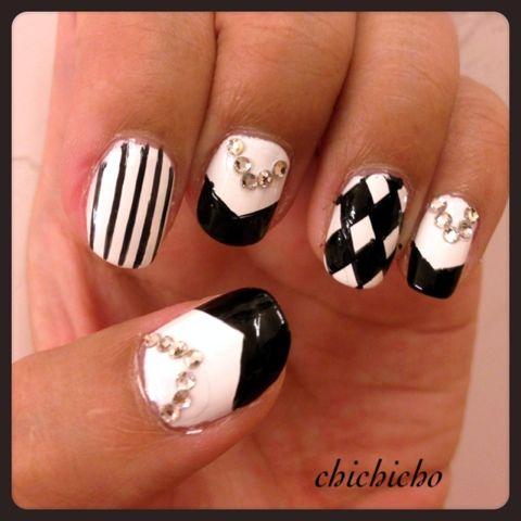 K-pop: T-ARA Sexy Love nails   chichicho~ nail art addicts