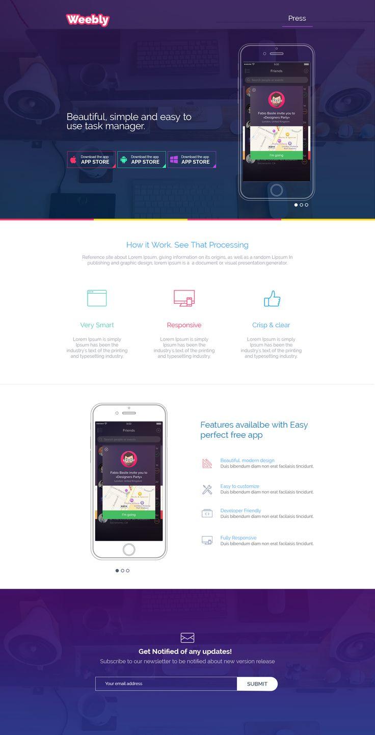 332 best Web design images on Pinterest | Web layout, Website ...