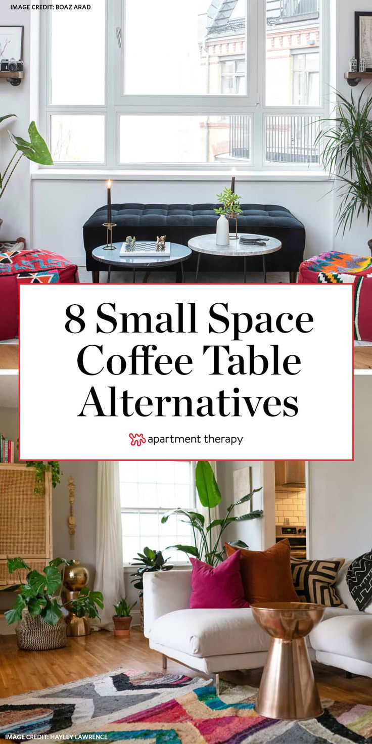 8 Cool Alternatives to Your Living Room Coffee Table in