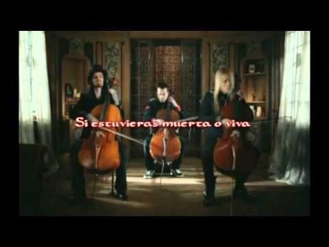 Apocalyptica - I Don't Care [Subtitulada] - YouTube