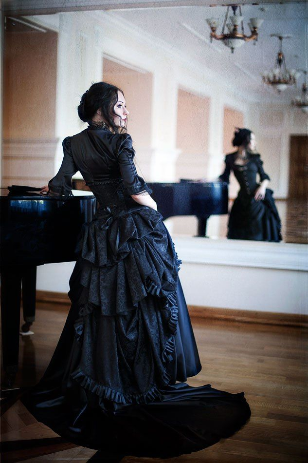 Character: Madame Paolina Onyx. Her husband, Mr. Leon Coal, was the one who broke the news about the attack. She is a ballroom dancer and teacher, her husband is owns a funeral parlor. Blacks have very varied interests.