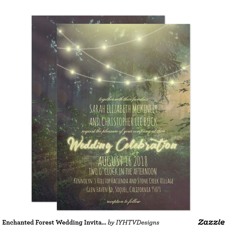 the 25+ best forest wedding invitations ideas on pinterest | wood, Wedding invitations