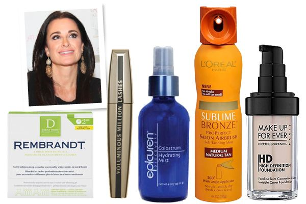 """Beverly Hills' own Kyle Richards, of """"Real Housewives of Beverly Hills,"""" dishes her beauty secrets plus her favorite Beverly Hills nail salon and restaurants."""