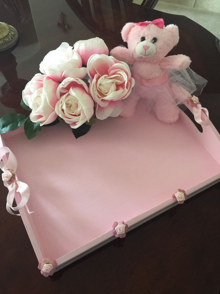A personal favorite from my Etsy shop https://www.etsy.com/listing/277469284/decorated-pink-tray-chateau-nic-and-nat