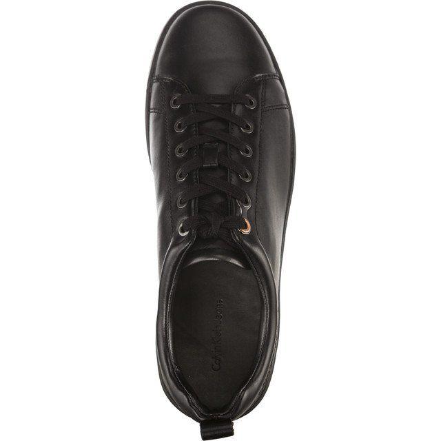 Sportowe Meskie Calvinkleinjeans Czarne Calvin Klein Jeans Gaetan Baby Calf Blk All Black Sneakers Black Sneaker Calves