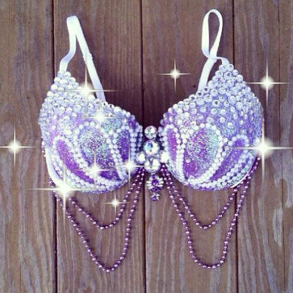Reserved for Shelia: Mermaid Rave Bra