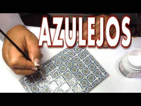 COMO HACER AZULEJOS EN MINIATURA - HOW TO MAKE MINIATURE TILES