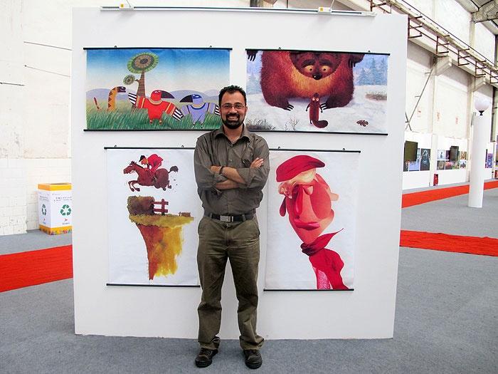 My cartoons in China-AYACC festival
