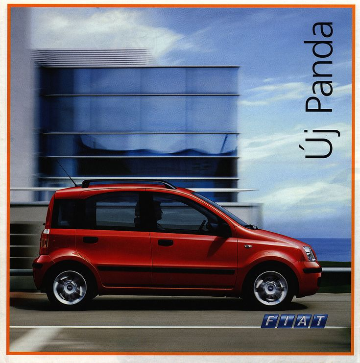 https://flic.kr/p/DJxLdP | Fiat Panda; 2003_1 car brochure by worldtravellib World Travel library