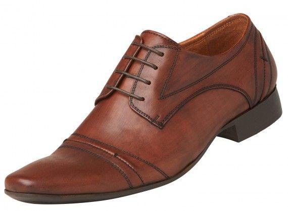 Windsor Smith - James Whisky Leather Shoe