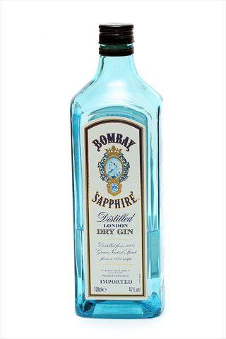 Бутылка джина Бомбей Сапфир