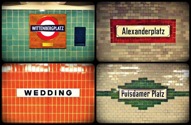 Berlin U-bahn stations
