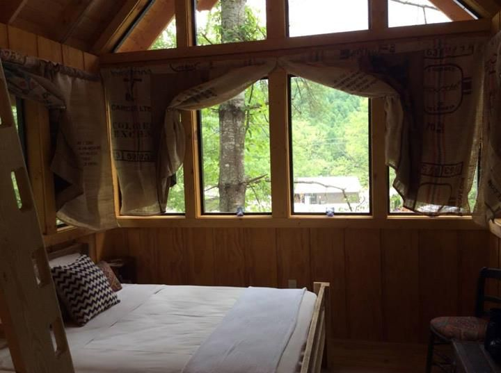 #Treehouse #Campleconte #Camping #Glamping #Gatlinburg