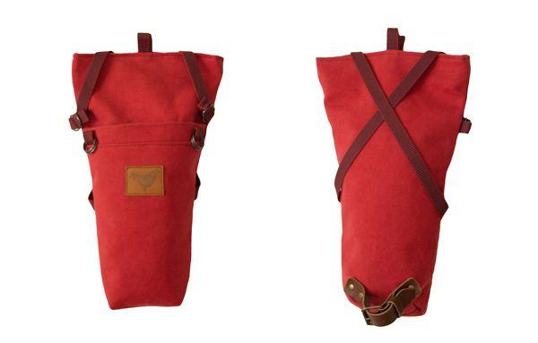 """Summer 2014 - """"Urban Nomads"""" - SAMI - the saddle bag - RED - Blind Chic."""